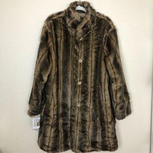 Donna Slayers' Fabulous Furs reversible coat